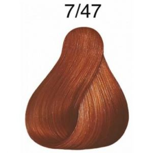 Wella Koleston Perfect Vibrant Reds 7.47 Blond cuivré marron