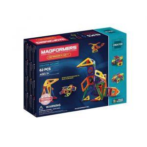 Magformers 703002 - Designer Set 62 pièces - Version française