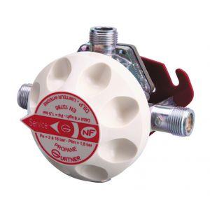 Gurtner DILP Détendeur Inverseur Limitateur Propane 6kg/h 1,5Bar