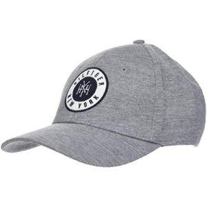 Tommy Hilfiger Badge Cap, Casquette De Baseball Homme, Gris (Light Grey Heather 047), Unique (Taille Fabricant: OS)
