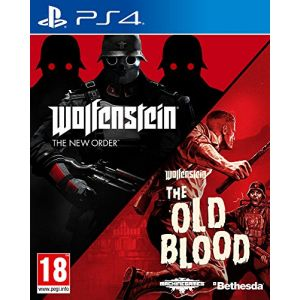 Wolfenstein Double pack New Order + Old Blood sur PS4