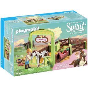 Playmobil 9480 - Chevaux Box Abigail & Boomerang