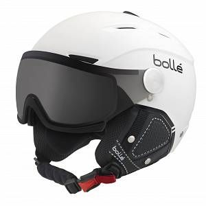 Bollé Casque De Ski/Snow Backline Visor Prenium Soft White & Black Modulator 56-58 56/58