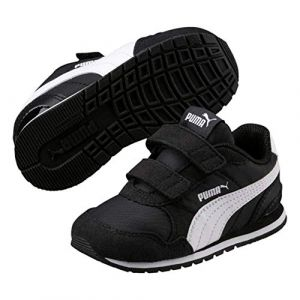Puma St Runner v2 NL V PS, Sneakers Basses Mixte Enfant, Noir Black White, 28 EU