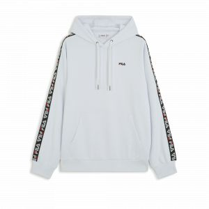 FILA David Tape sweat à capuche blanc T. S
