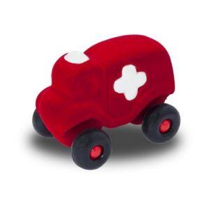 Rubbabu Grande ambulance rouge