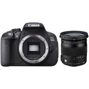 Canon EOS 700D (avec objectif Sigma 17-70mm)