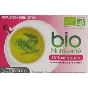 Nutrisanté Infusion bio détoxification - Boîtes de 20 sachets