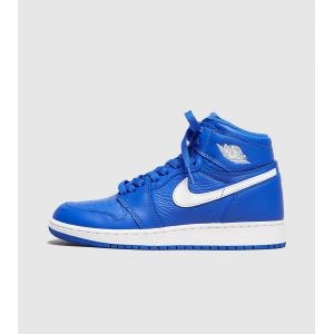 Nike Chaussure Air Jordan 1 Retro High OG pour Enfant plus âgé - Bleu Taille 35.5