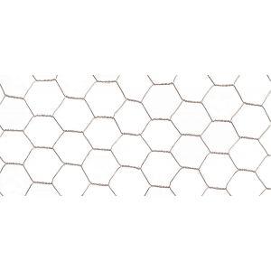 Nortene Maille hexagonale triple torsion Galvanex, 4,1 cm, en métal, 1000 X 50 cm