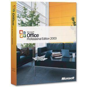 Office 2003 Pro [Windows]