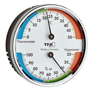 TFA Dostmann Thermomètre/hygromètre sans fil pour une meilleure tFA 45.2040.42 wohn et de climat