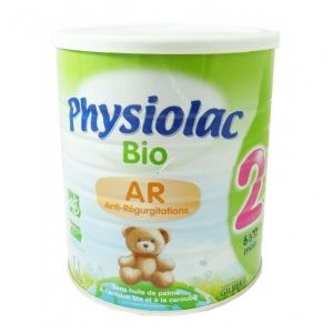 Physiolac Lait Bio Anti-Régurgitation 2ème âge 800 g - de 6 à 12 mois