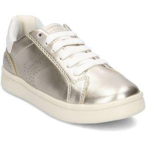 Geox Djrock A, Sneakers Basses Fille, Or (Lt Gold), 32 EU