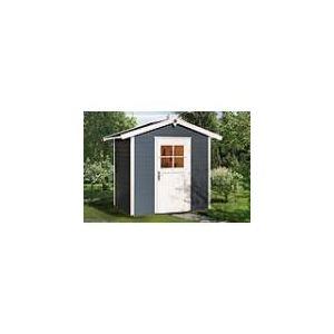 Weka Abri de jardin Classic Color 1 porte en bois 21 mm 6,50 m2