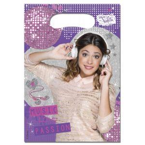 Procos 6 sachets pour bonbons Violetta