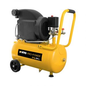 Vito Pro-Power Compresseur à huile 2 cv / 230 V VITOPOWER 1500 W 24 litres