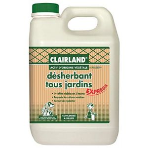 Clairland Désherbant Tous Jardins Actif présent dans la nature Concentré 2,5 L
