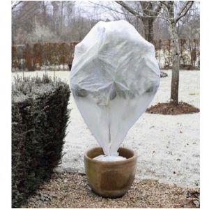 Atout Loisir Lot de 3 housses d'hivernage - PP, blanc, 30 gr/m²- H75 x Ø48 cm