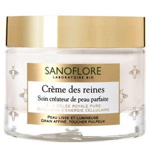 Image de Sanoflore Crème des reines - Soin créateur de peau parfaite
