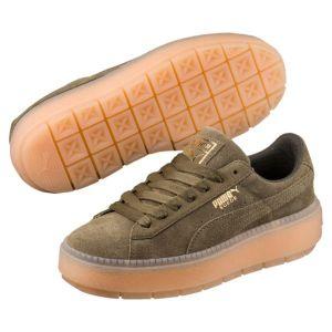 Puma Chaussures Platform Trace - Vert - 40 EU