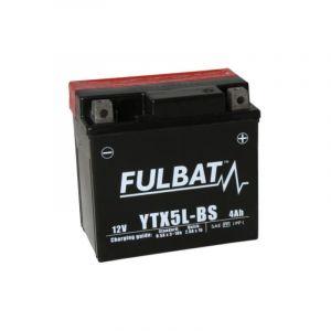 Fulbat Batterie moto YTX5L-BS étanche 12V / 4Ah