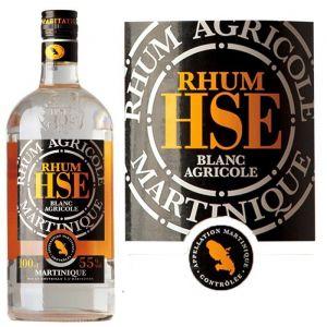 Habitation saint-etienne Rhum Blanc Agricole Martinique - La bouteille de 100cl