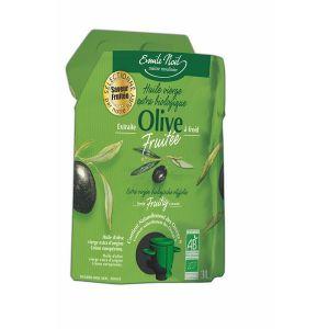 Emile Noël Huile d'olive vierge extra fruitée bio - Poche souple de 3L