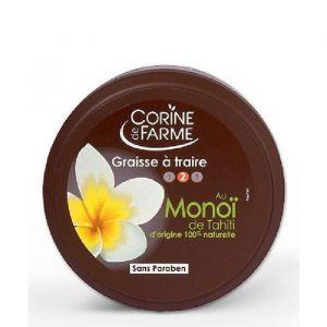 Corine de Farme Graisse à traire au Monoï de Tahiti bronzage intense