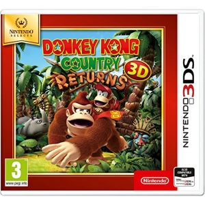 Donkey Kong Country Returns 3DS Game (Selects) [3DS]
