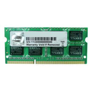 G.Skill F3-1600C9S-4GSL - Barrette mémoire Standard 4 Go DDR3 1600 MHz CL9 SoDimm 204 broches