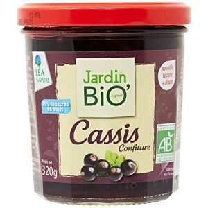 Jardin Bio Confiture extra cassis bio