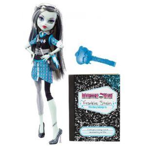 Mattel Monster High Frankie Stein et son journal intime (V7989)