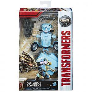 Hasbro Transformers Autobot Sqweeks Deluxe