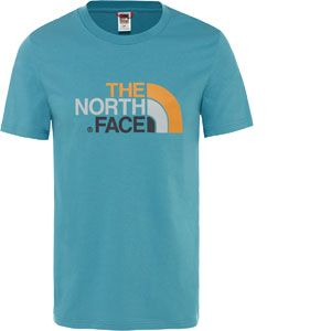 The North Face M S/S Easy Tee Storm Blue T-shirts