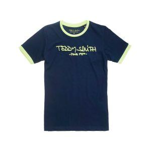 Teddy smith T-shirt enfant TICLASS 3 - Couleur 8 ans,10 ans - Taille Bleu
