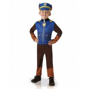 Pat Patrouille déguisement Chase taille 3/4 ans