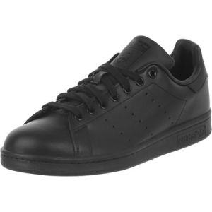 Adidas Originals Stan Smith, Sneakers Basses Homme-Noir (Black/Black) -49 1/3 EU (13.5 UK)
