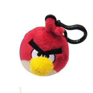 Giochi Preziosi Peluche clip Angry Birds (couleur aléatoire)