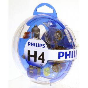 Philips Coffret ampoules H4 5 ampoules
