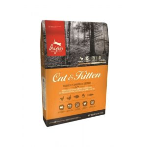 Orijen Croquettes chat Cat & Kitten Contenance : 17 kg