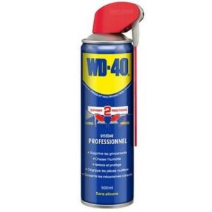 WD-40 Graisse, Lubrifiants et Degrippants AEROSOL-500ML-SYSTEME-PROFESSIONNEL-WD40