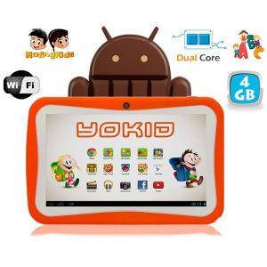 "Yonis Yokid 4 Go - Tablette tactile 7"" éducative sous android 4.4"