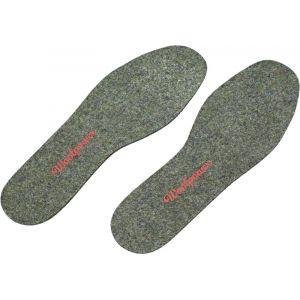 Woolpower Felt Insoles gris 36-37 Lacets & Semelles