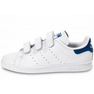 Adidas Stan Smith Cf, Basket homme, Blanc (Footwear White/Footwear White/Collegiate Royal), 44.666666666666664
