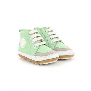 Robeez Migo, Sneakers Haute Mixte, Vert, 23