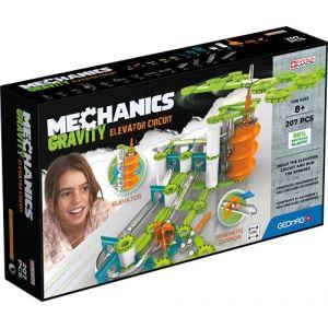 Geomag MECHANICS, GRAVITY 207 pcs, construction magnétique, jeux éducatifs, Jouet pour enfants dès 8 ans, GMV03