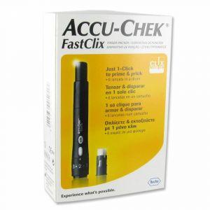Accu-Chek Fastclix - Autopiqueur + Cartouche de 6 lancettes