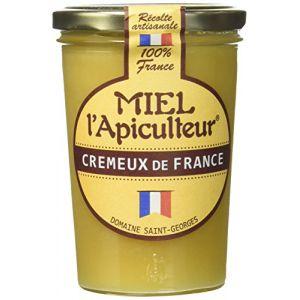 Lune de miel MIEL L'Apiculteur Miel de France Crémeux Pot Verre 500 g