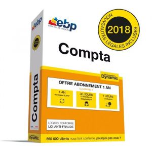 Compta 2018 Abonnement Dynamic + Services VIP [Windows]
